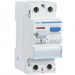Diferencial 2x40a 30ma tipo AC