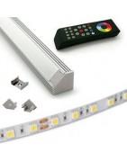 TIRAS DE LED-FUENTES-PERFILES