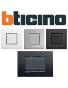 Bticino Living Light: mecanismos interruptores, enchufes, etc