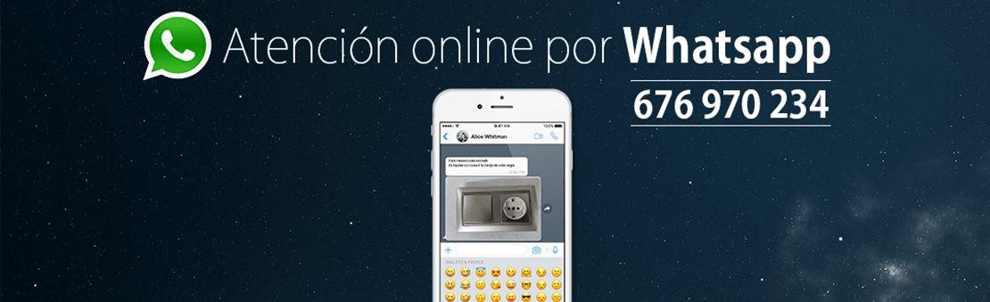 Contáctenos por Whatsapp con Electroalmacén